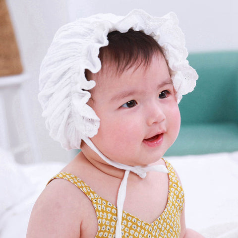 Newborn Granny Hat Milk Maid Cap Photo Props - My Urban One