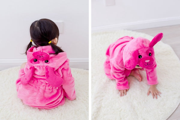 Cartoons and Animals Hooded Robes - My Urban One