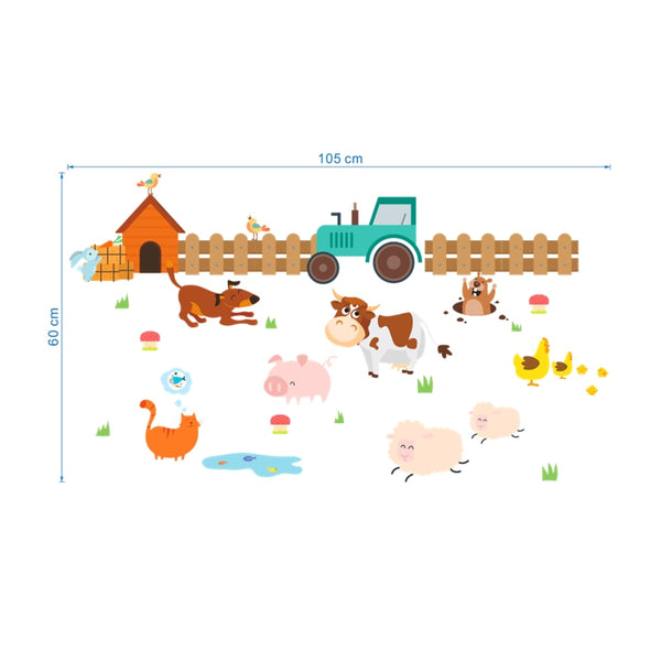 Farm Animal Wall Stickers - My Urban One