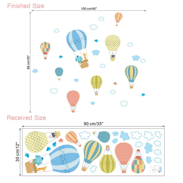 Air Balloon Wall Decals - My Urban One
