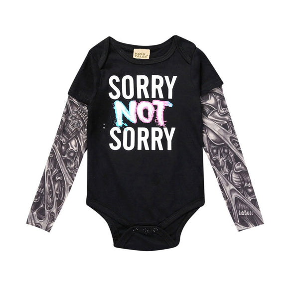 Sorry NOT Sorry Tattoo Bodysuit - My Urban One