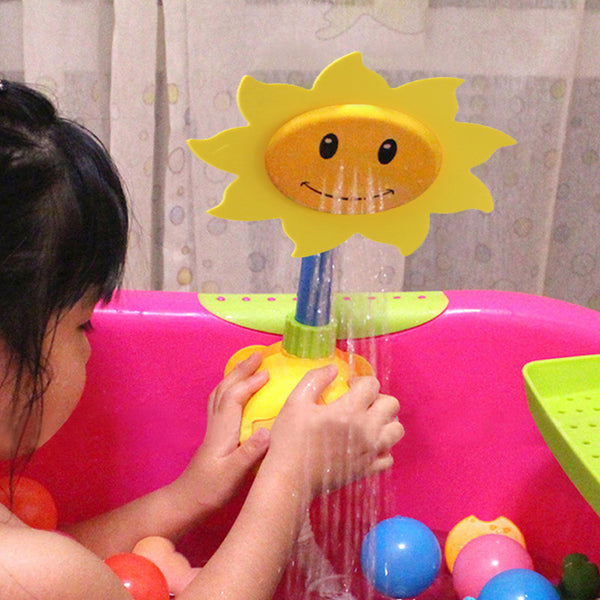 Sunflower Shower Faucet Spray Baby Bath Toy - My Urban One