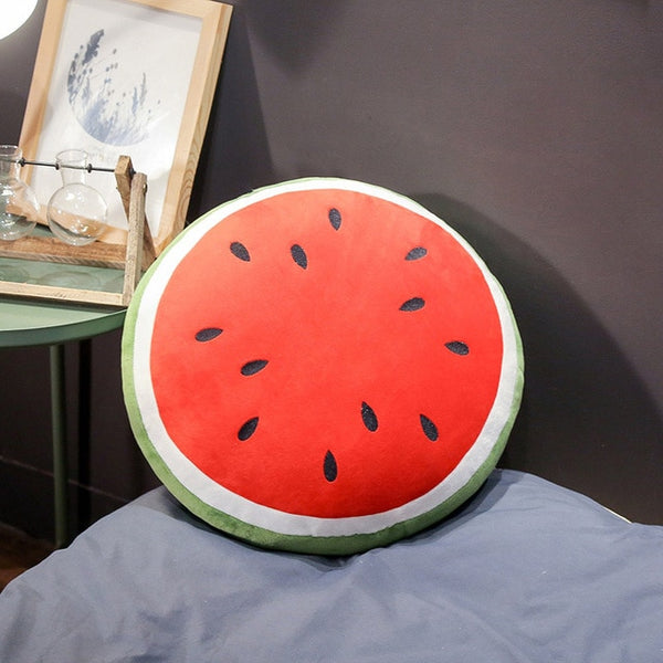 Watermelon filled fruit pillow - My Urban One