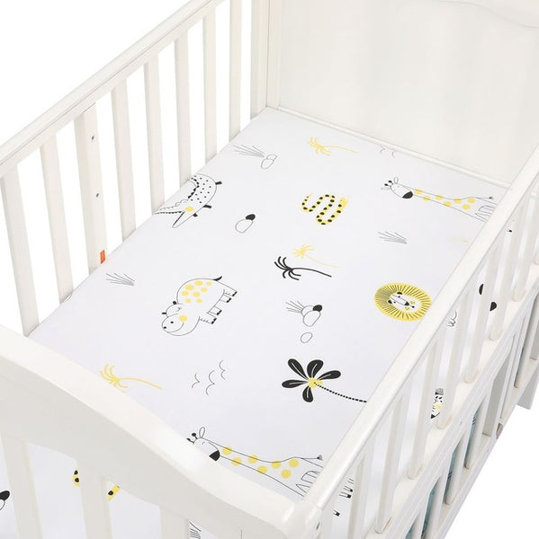 Soft Baby Crib Fitted Sheet - My Urban One
