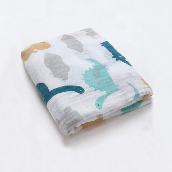 Organic Cotton Soft Baby Swaddle Wrap - My Urban One