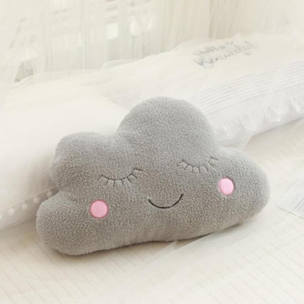 Stuffed Cloud Moon Star Raindrop Plush Pillow - My Urban One