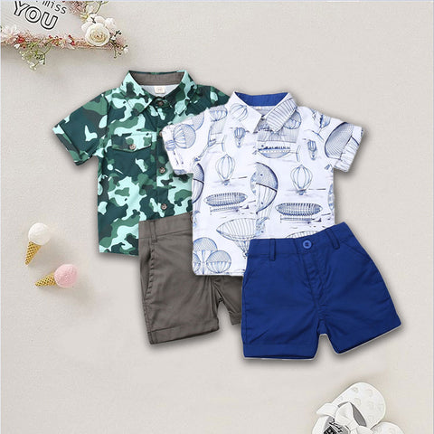 Summer Toddler Boy Clothes - My Urban One