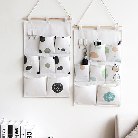 Nordic Style Wall Hanging Storage Bag - My Urban One