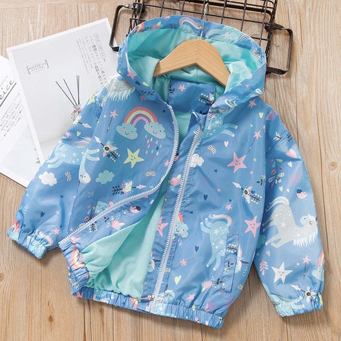 Unicorn Hooded Coat - My Urban One