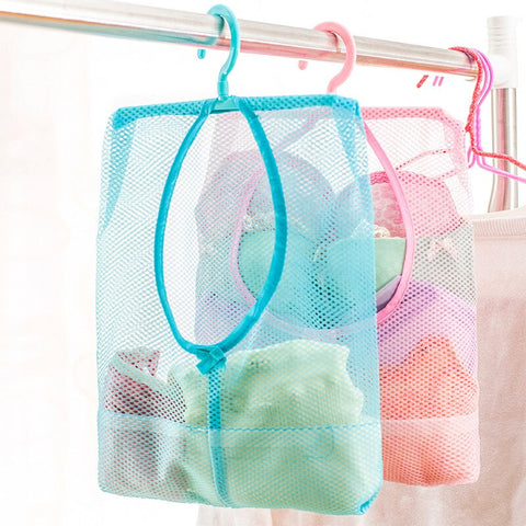 Multifunctional Bathroom Hanging Storage Mesh Bags - My Urban One