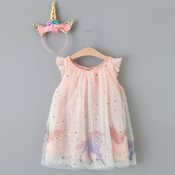Unicorn Princess Dress - My Urban One