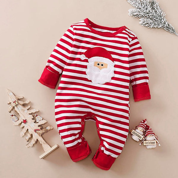 Striped Santa Romper