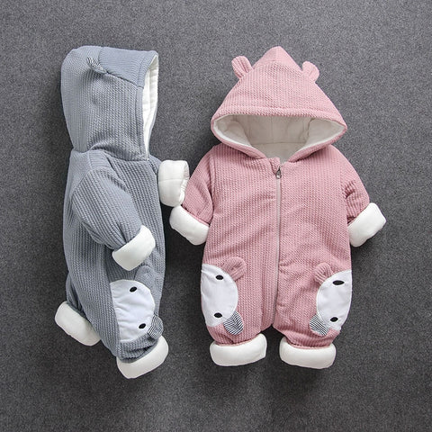 Baby Winter Romper