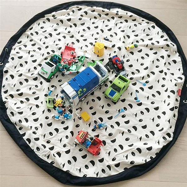 Portable Kids Play Mat Toy Storage Bag - My Urban One