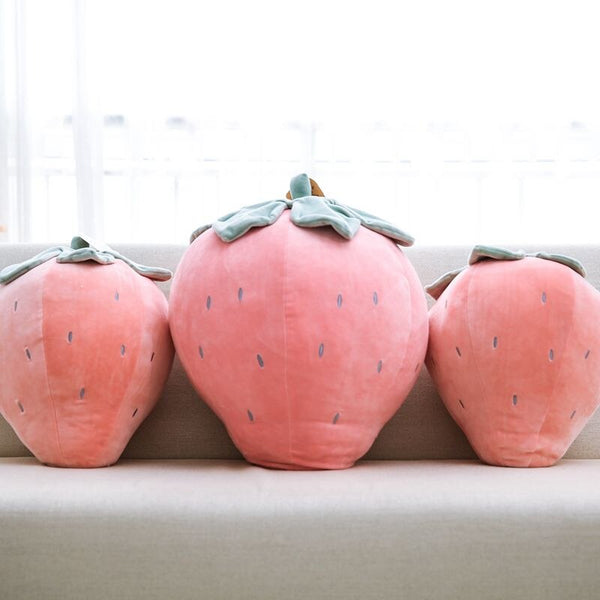 Soft Strawberry Pineapple Stuffed Pillow - My Urban One
