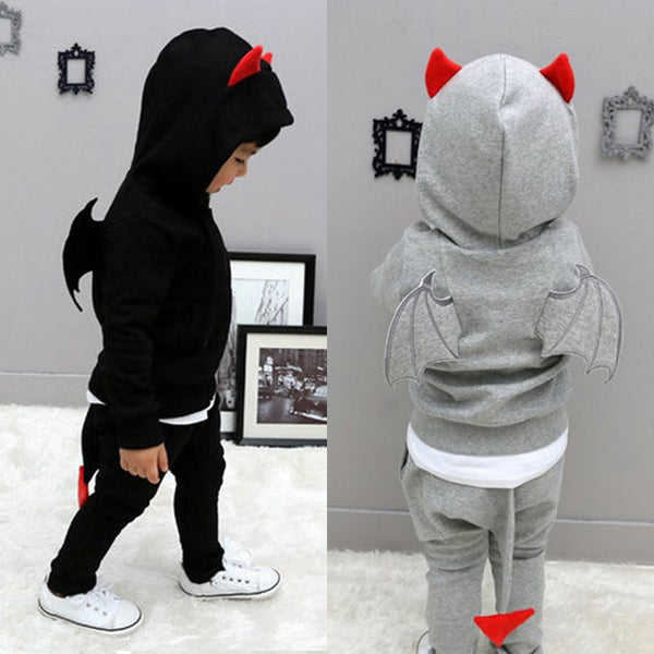 LZH Children Clothing 2018 Spring Baby Boys Clothes Set Hoodies Coat+Pants 2pcs Outfit Kids Girl Tracksuits For Boys Sports Suit - My Urban One