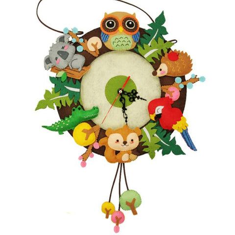 Forest Animals Wall Clock - My Urban One