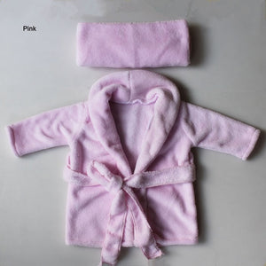 Baby Scarf And Bathrobes Photography Props - My Urban One