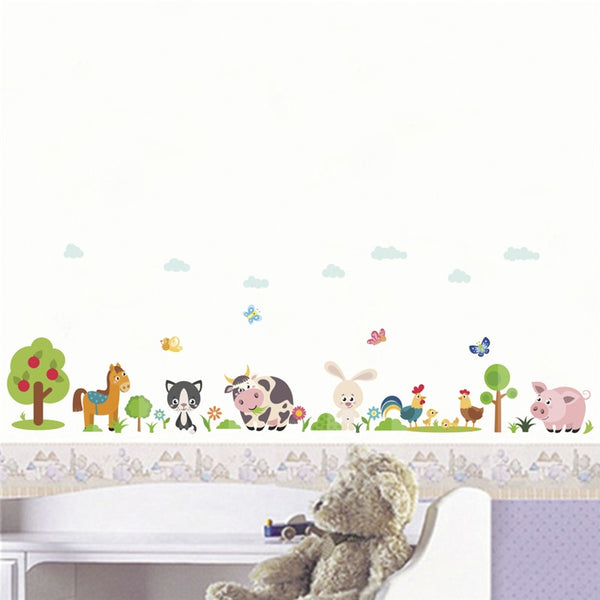 Beautiful Animals Wall Stickers - My Urban One