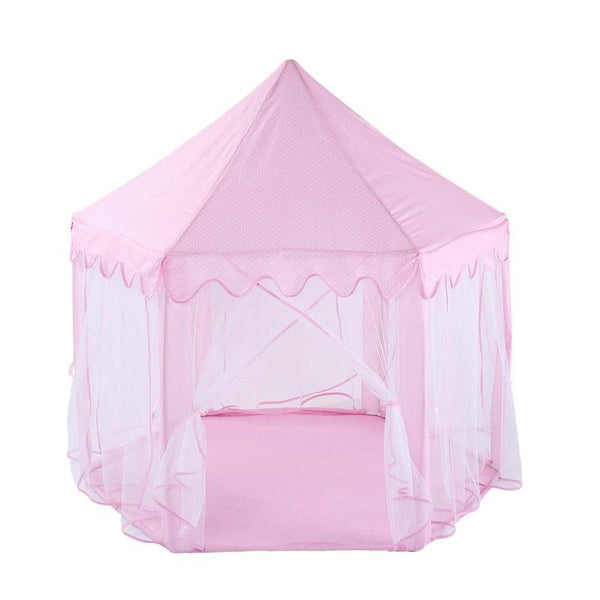 Portable Princess Pink Castle Tents Playhouse - My Urban One