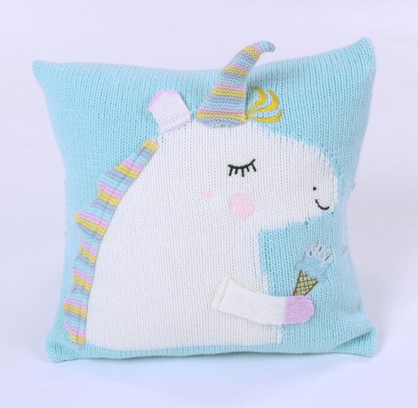 Unicorn Knitted Pillow - My Urban One