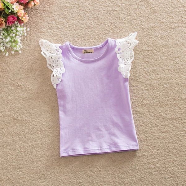 Princess Lace Sleeve Tops - My Urban One