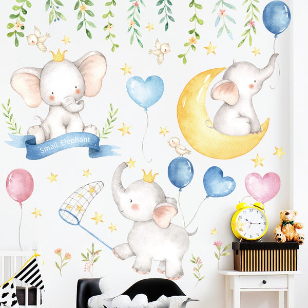 Elephant Wall Decals - My Urban One