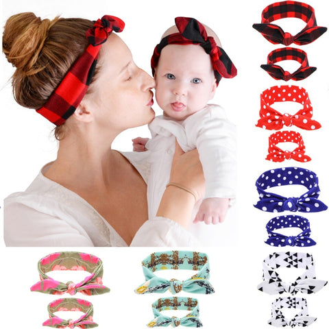Mother and Daughter Cotton Headband - My Urban One