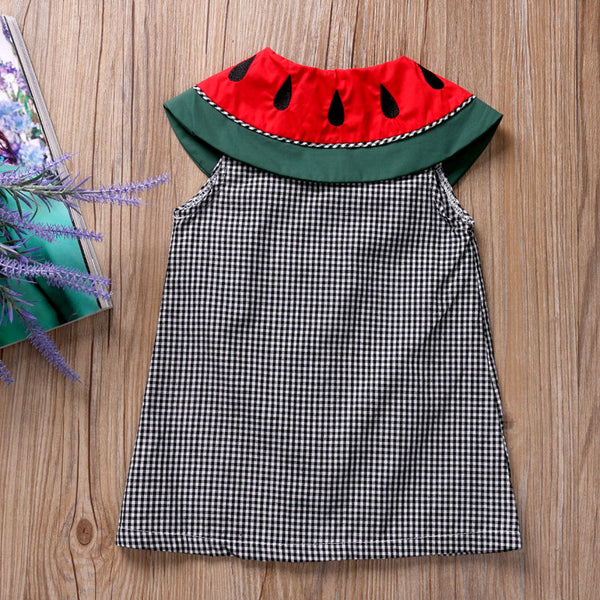 Watermelons Summer Sleeveless Dress - My Urban One
