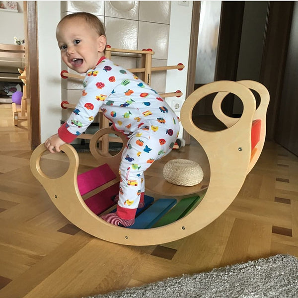 Wooden Baby Swing Chair - My Urban One