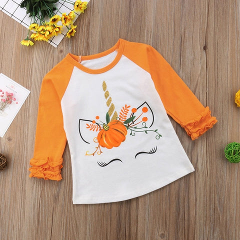 Unicorn Pumpkin Long Sleeves - My Urban One