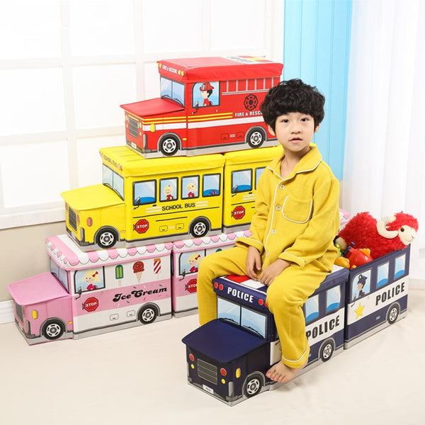 Bus Shape Toys Organizer - My Urban One