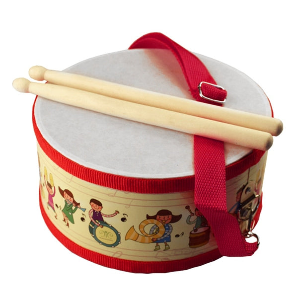 Educational Wooden Drum Musical Instrument - My Urban One