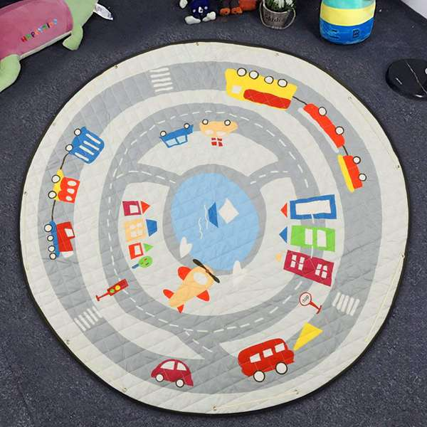 Baby Toys Storage Organizer and Play Mat - My Urban One