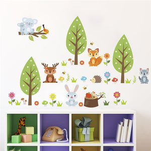Cute Animals Wall stickers - My Urban One