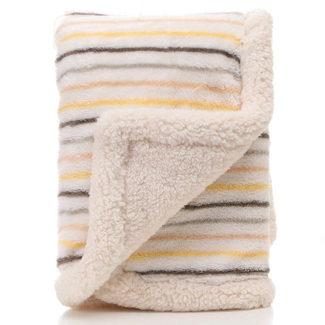 High Quality Thick  Fleece Blanket - My Urban One