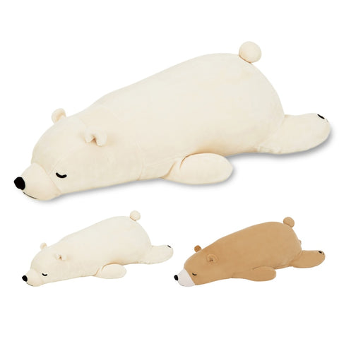 Polar Bear Long Pillow Doll - My Urban One
