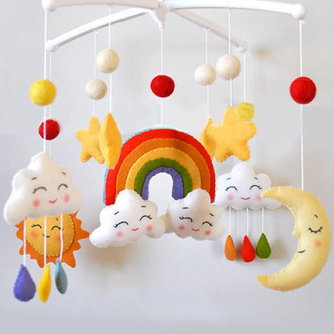 Cartoon Handmade Baby Crib Mobile - My Urban One
