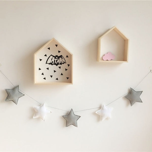 Nordic Handmade Nursery Star Garland - My Urban One
