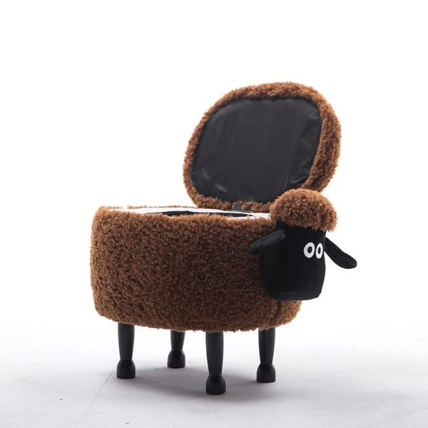 Sheep Wooden Stool - My Urban One