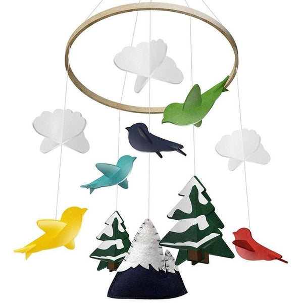 Woodland Baby Crib Mobile - My Urban One