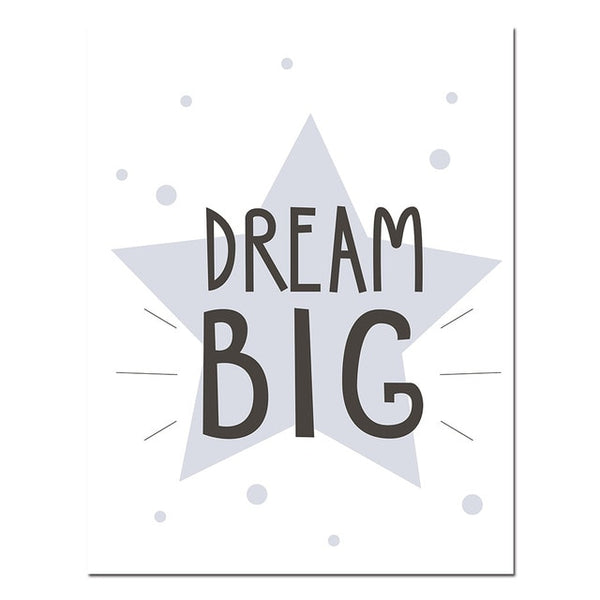 """Dream Big"" Canvas Print - My Urban One"