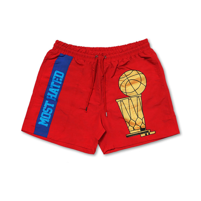 Most Hated Championship Shorts - Red (PRESALE)