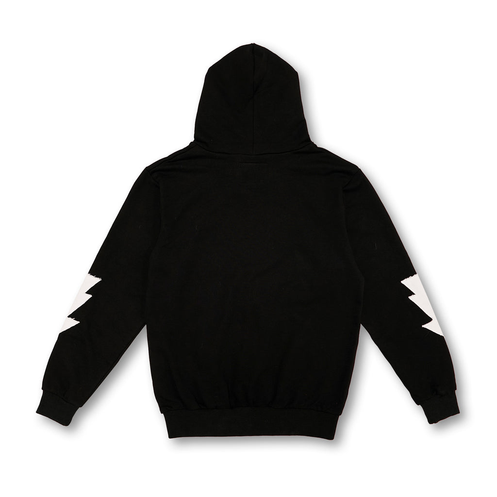 Most Hated French Terry Bolt Hoodie - Black