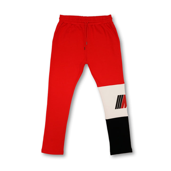 Most Hated French Terry Sweatpants - Red
