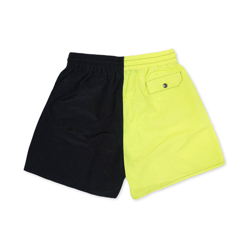 Most Hated Neon Summer Shorts - Green / Black