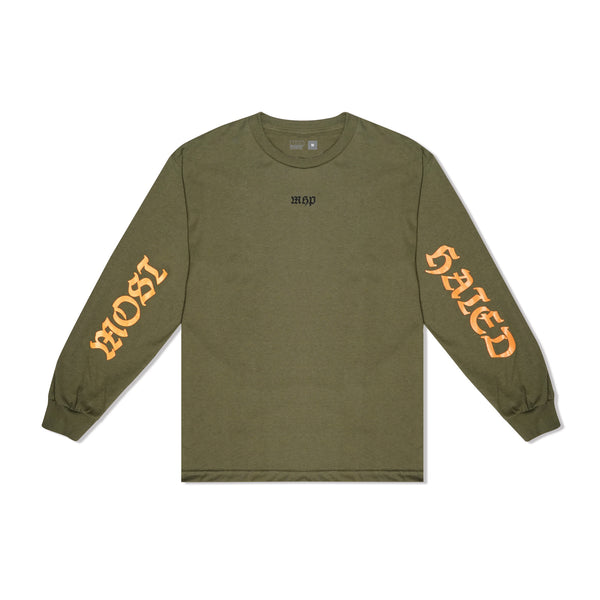 Most Hated Manifesto L/S Tee - Green