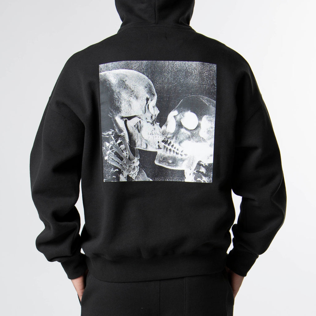 "MOST HATED ""KISS OF DEATH"" HOODIE- BLACK"