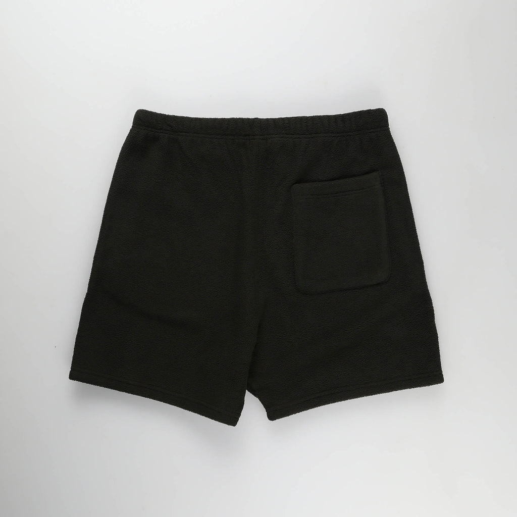MOST HATED POLAR FLEECE SHORTS- BLACK