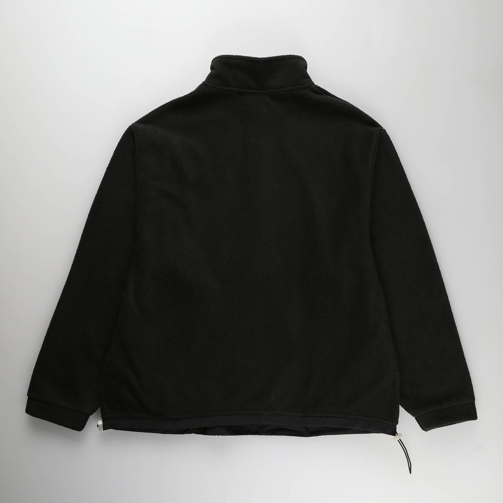 MOST HATED POLAR FLEECE QUARTER ZIP- BLACK